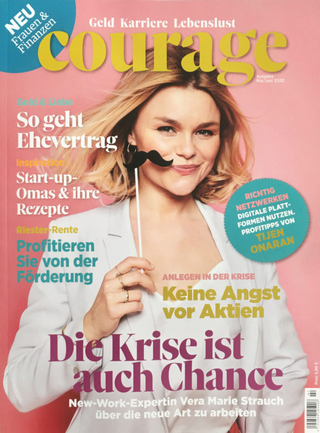 Courage Cover mit Vera Marie Strauch I People